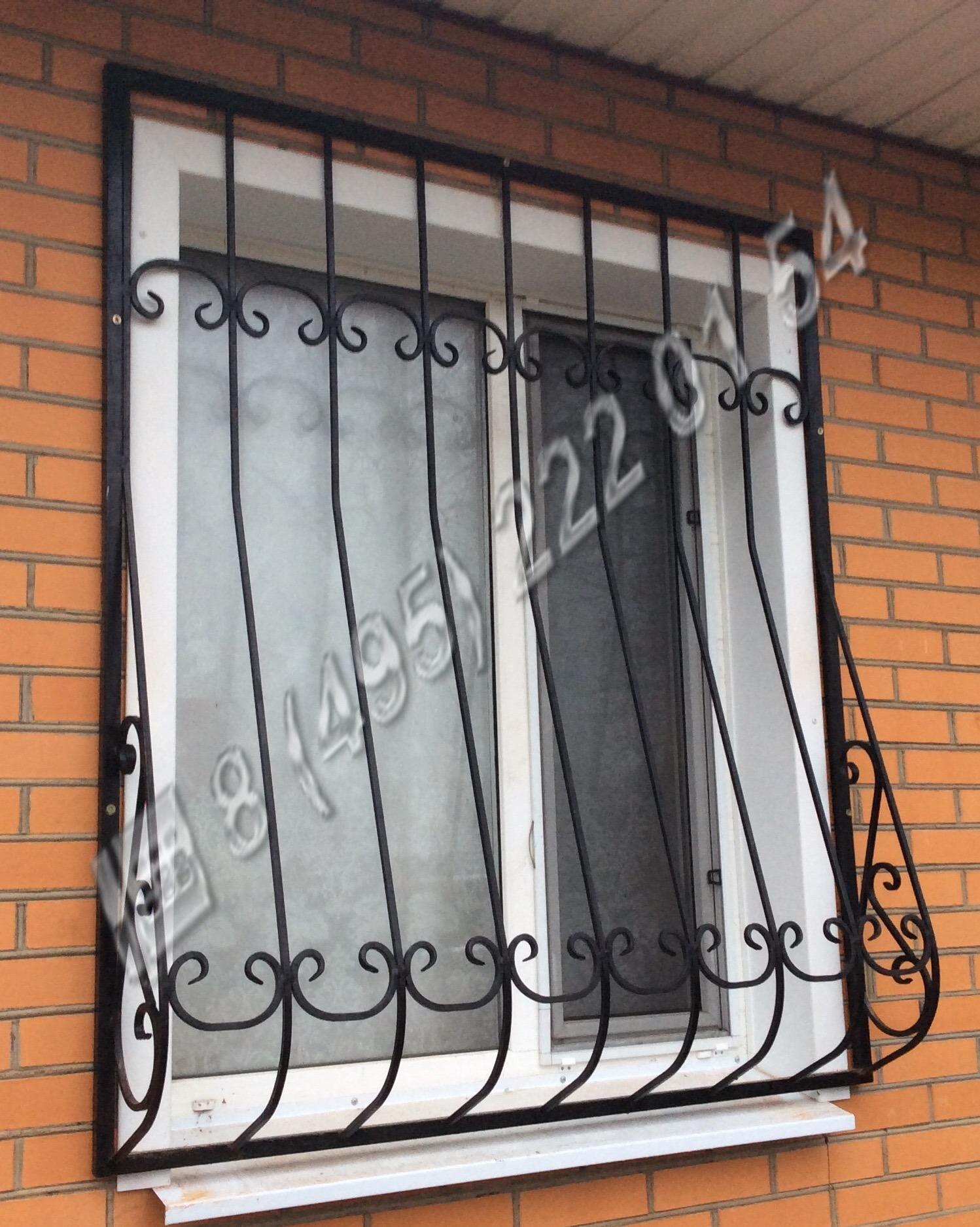 решетки на окна металлические изготовление москва