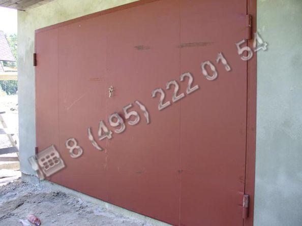 Ворота / Создание ворот сварных металлических ВС175 - изображение