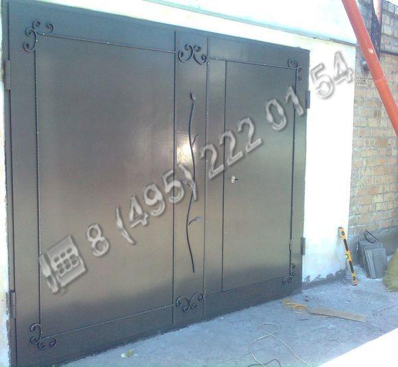 Ворота / Установка сварных металлических ворот ВС125 В Москве