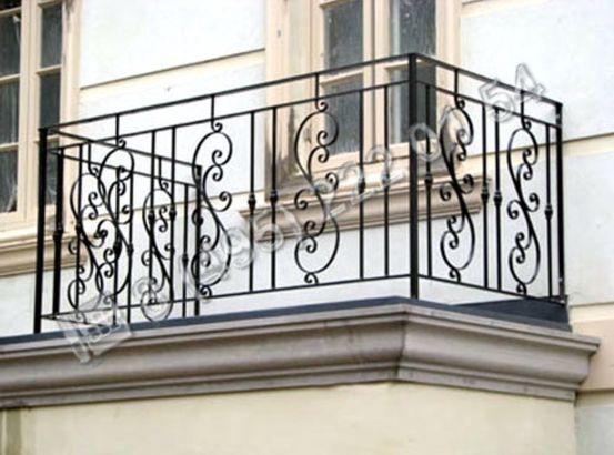 Заборы, ограждения / Установка кованого ограждения ГК371 в Москве - пример
