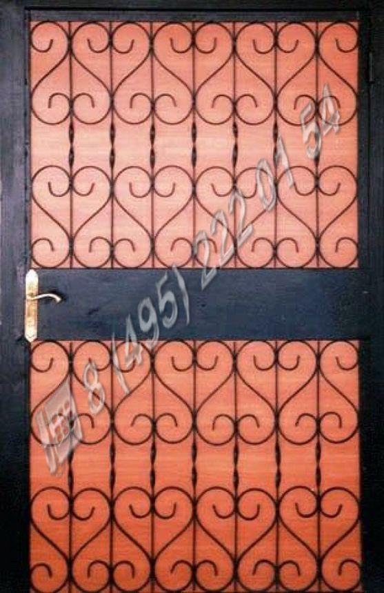 купить железную решетку на дверь