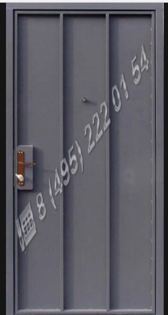 стальные двери временные
