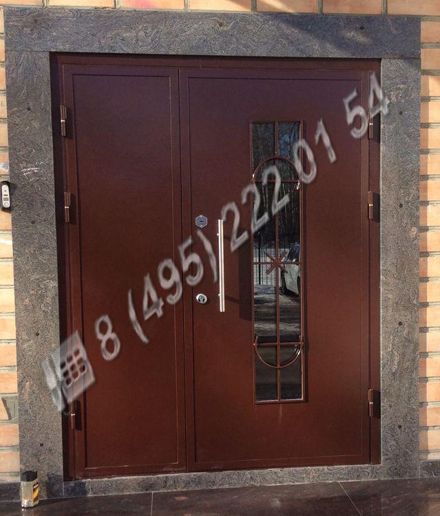 входные стальные двери во внутрь под заказ